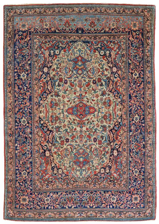 antico tappeto persiano