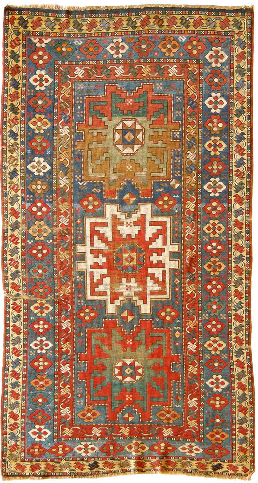 Antique Carpets From Caucasus Regions