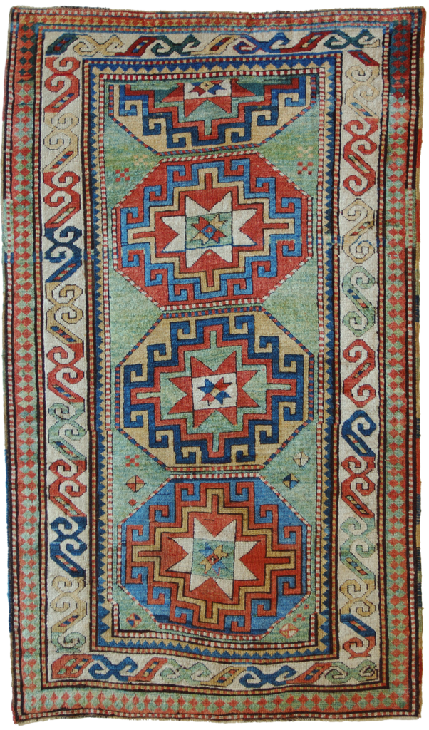 antique kazak carpet